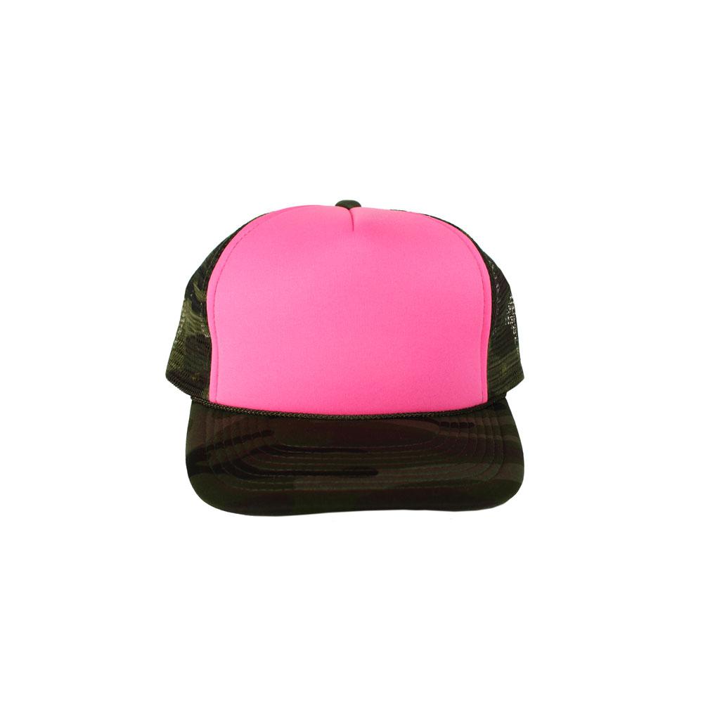 e19005c4fe7 Blank Camo Mesh Hats - Parchment N Lead